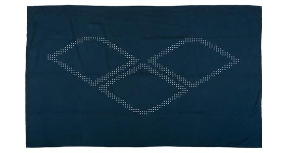 arena Halo Towel navy-white